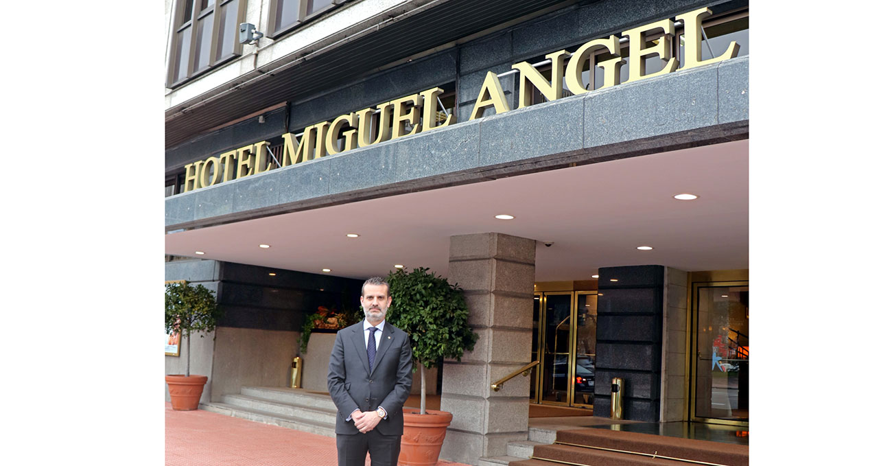 Don Manuel Murga, nuevo Director General del Hotel Miguel Angel by BlueBay
