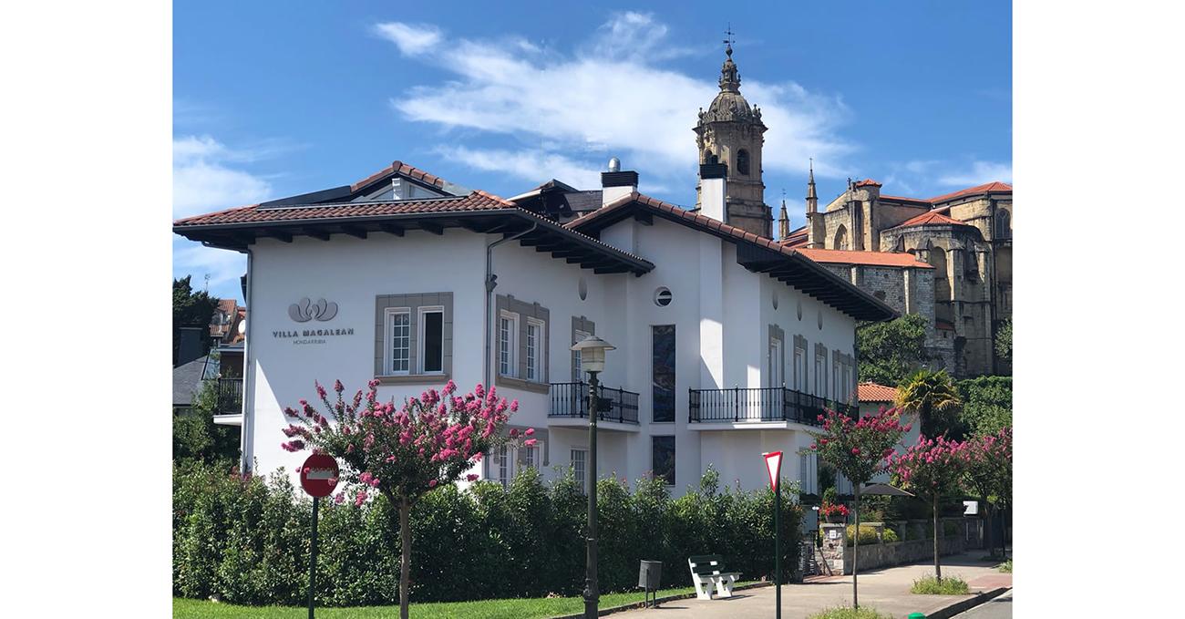 El hotel Villa Magalean de Hondarribia recibe el premio «Coup de coeur» en los Villégiature Awards 2019