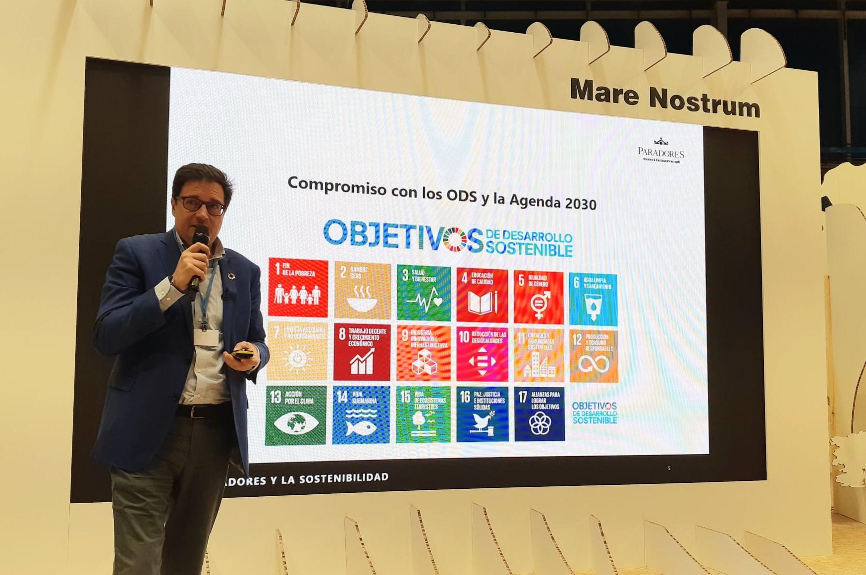 Paradores detalla su modelo de turismo sostenible en la cumbre del clima