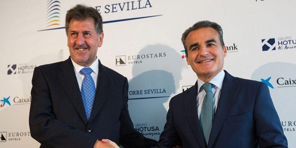 CaixaBank y Hotusa ampliarán el Eurostars Torre de Sevilla