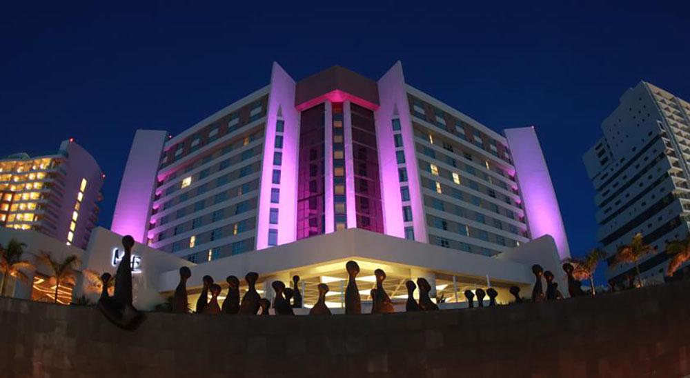 HOTEL ME CANCÚN APUNTA A LA CADENA HOTELERA BE LIVE HOTELS.
