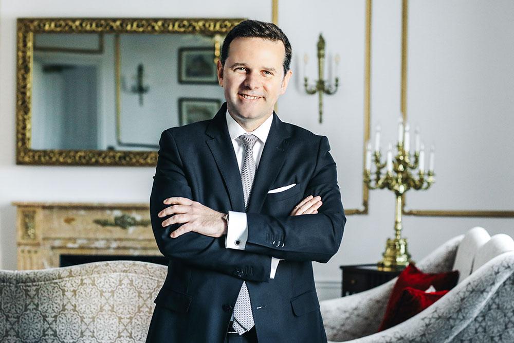 EL HOTEL EL PALACE REFUERZA SU DIRECCIÓN CON LA INCORPORACIÓN DE JEAN-MARIE LE GALL, NUEVO DIRECTOR GENERAL