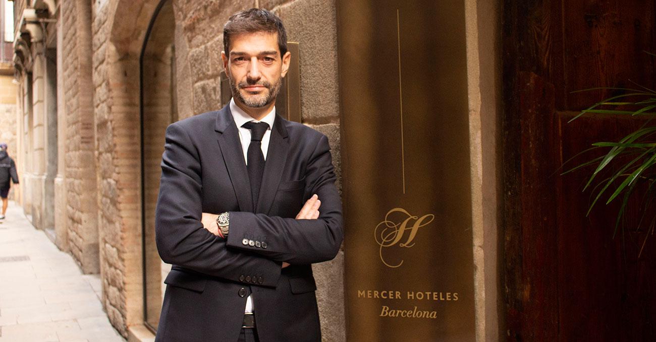 "Entrevista a Francesc Holgado, director general de Mercer Hoteles.                       ""A nivel de expansión, 2018 ha sido el año que estábamos esperando"""
