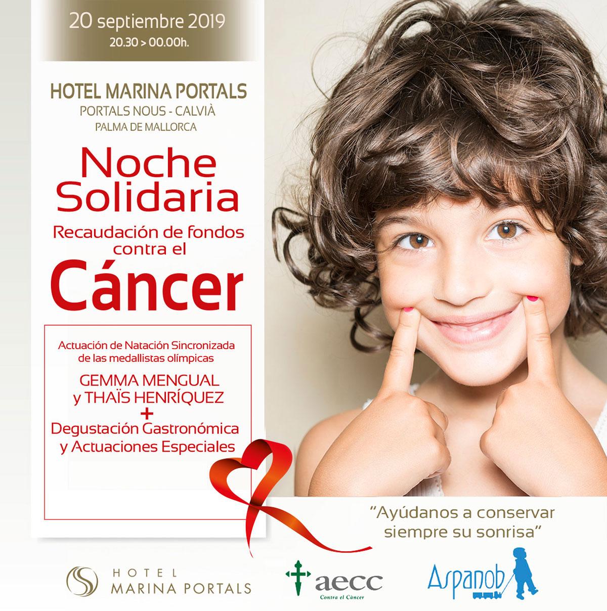 Sallés Hotels Marina Portals organiza una noche solidaria para combatir el cáncer infantil