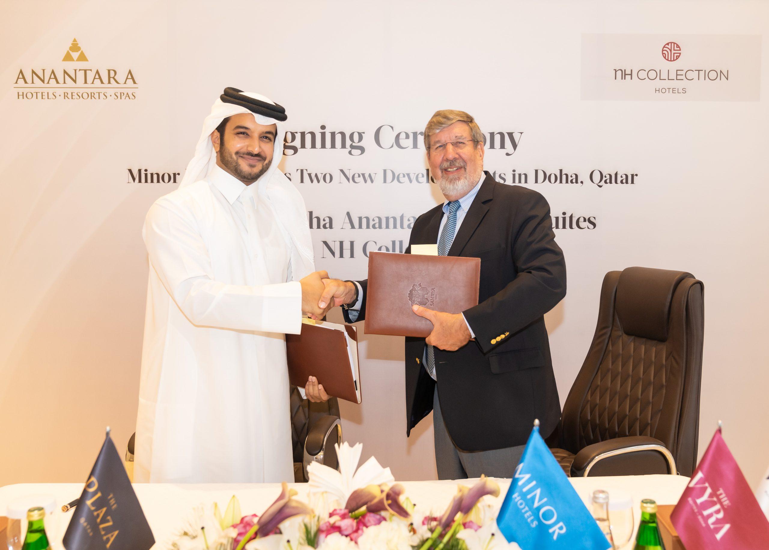 Minor Hotels anuncia la firma de dos nuevas propiedades en Catar que serán operadas bajo las marcas Anantara y NH Collection