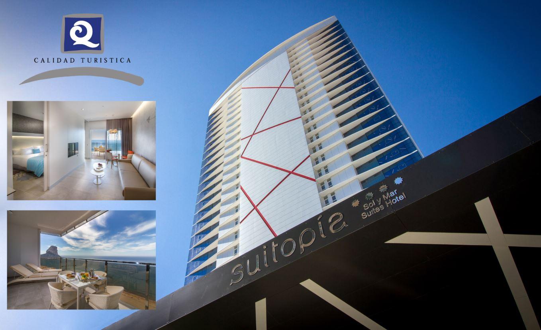 Suitopía Sol y Mar Suites Hotel recibe la 'Q' de Calidad Turística