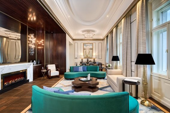 MATILD PALACE, A LUXURY COLLECTION HOTEL, BUDAPEST PRESENTA SUS CAUTIVADORES INTERIORES CON SELLO MKV DESIGN