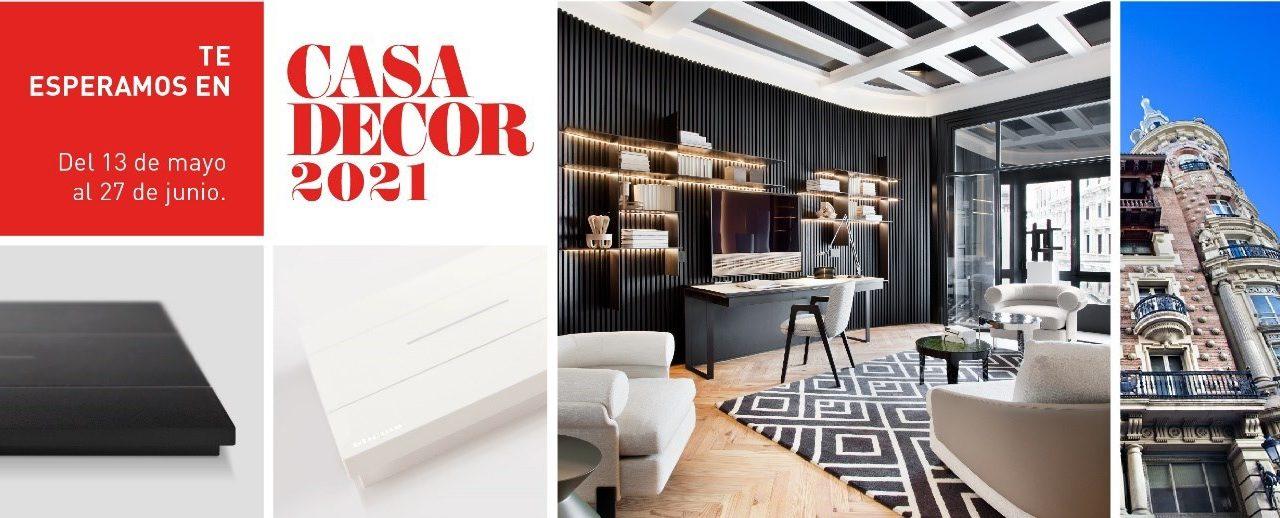 El diseño de Living Now de BTicino presente en Casa Decor 2021