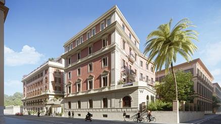 EL HOTEL W ROMA PREPARA SU APERTURA PARA OTOÑO